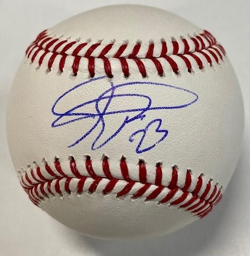 Photo of Joc Pederson Autographed Baseball