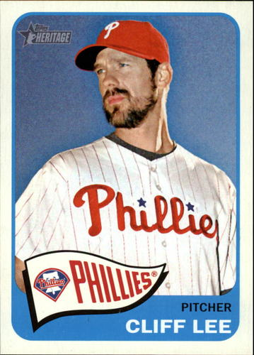 Photo of 2014 Topps Heritage #20 Cliff Lee