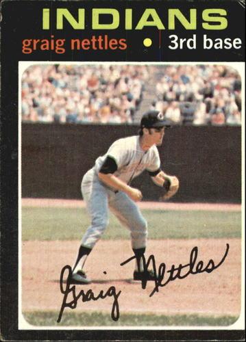 Photo of 1971 Topps #324 Graig Nettles