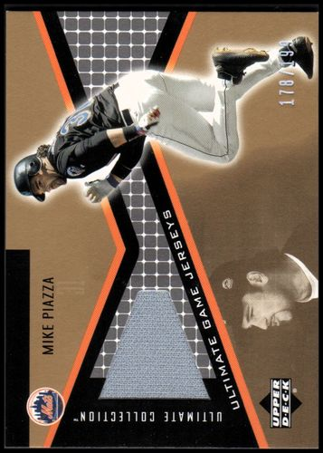 Photo of 2002 Ultimate Collection Game Jersey Tier 4 #MP Mike Piazza