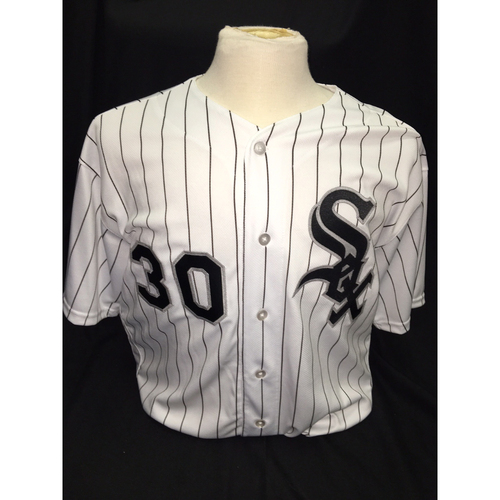 Photo of David Robertson Autographed Jersey