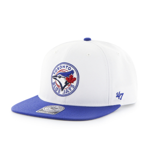 Toronto Blue Jays Sure Shot Two Tone Snapback Cap by '47 Brand