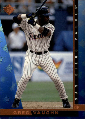 Photo of 1997 SP #158 Greg Vaughn