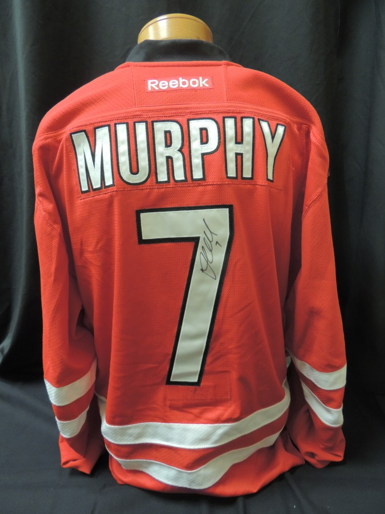 Ryan Murphy #7 Autographed, Game Worn Jersey