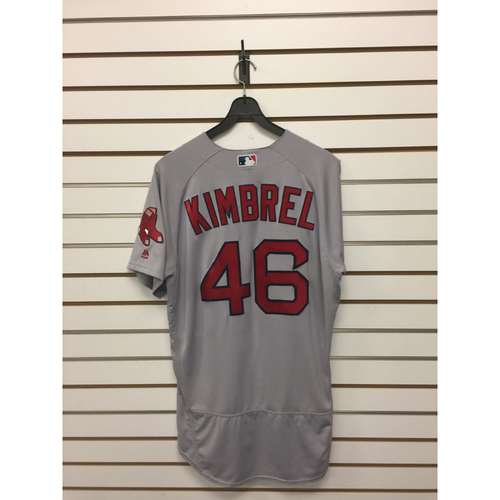 Photo of Craig Kimbrel Team-Issued August 23, 2017 Road Jersey