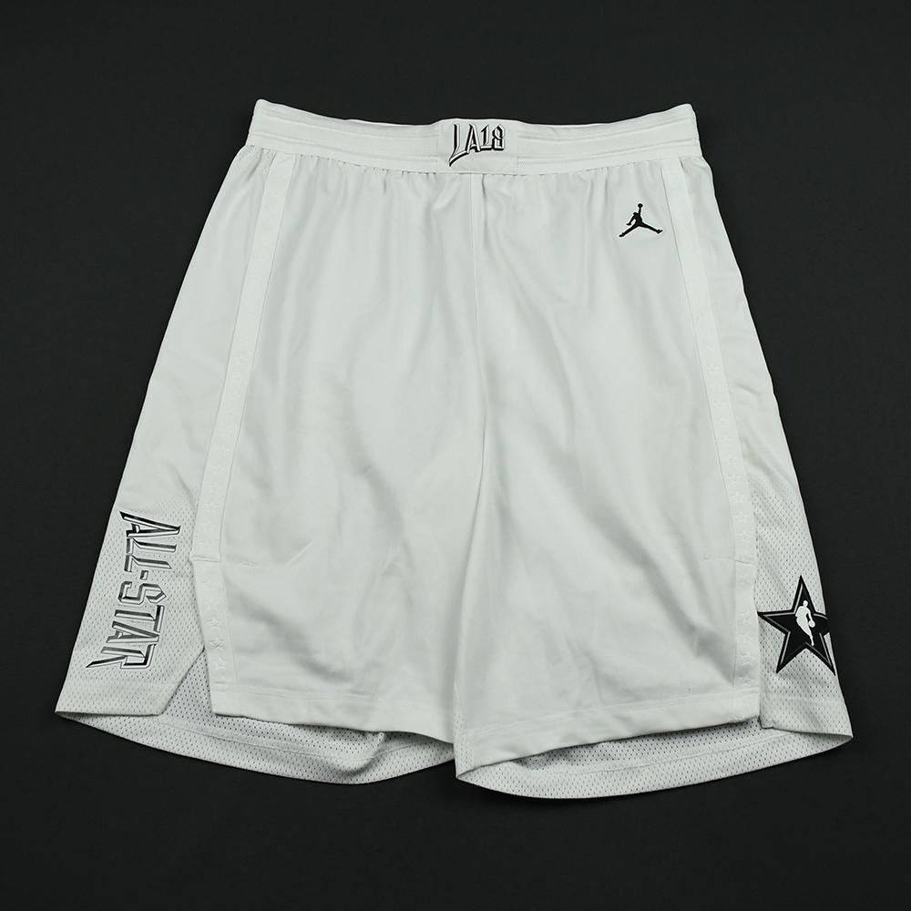 Kyrie Irving - 2018 NBA All-Star Game - Team LeBron - Game-Worn Shorts - 1st Half Only