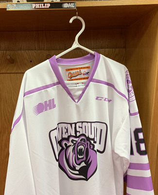 Matthew Philip Hockey Fights Cancer Jersey