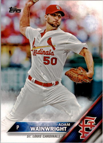 Photo of 2016 Topps #319 Adam Wainwright
