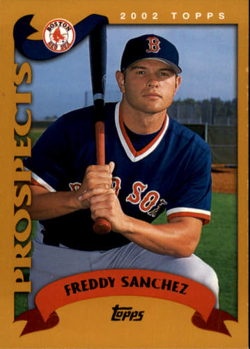 Photo of 2002 Topps #313 Freddy Sanchez PROS RC
