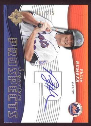 Photo of 2005 Ultimate Signature #167 Philip Humber AU RC