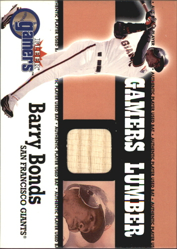 Photo of 2000 Fleer Gamers Lumber #7 Barry Bonds