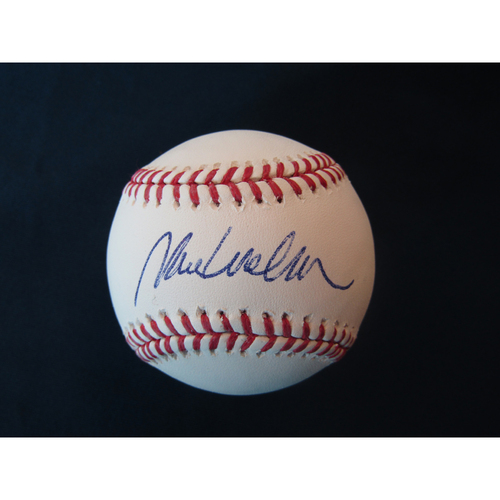 Photo of Braves Charity Auction - Mark Wohlers Autographed Baseball