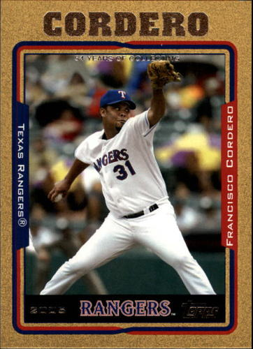 Photo of 2005 Topps Gold #68 Francisco Cordero