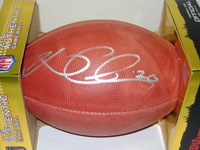 PANTHERS - KURT COLEMAN SIGNED AUTHENTIC FOOTBALL
