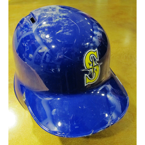 Photo of Kyle Seager Team-Issued Home Alt Batting Helmet 2016