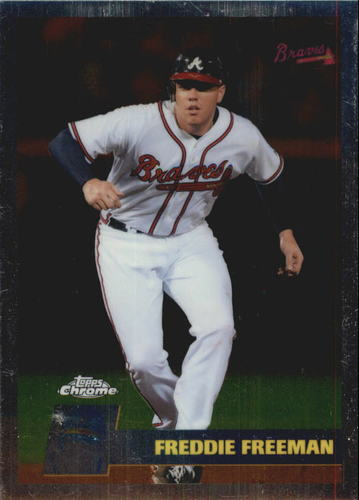 Photo of 2011 Topps Chrome Vintage Chrome #VC45 Freddie Freeman