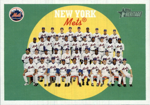 Photo of 2008 Topps Heritage #714 New York Mets SP