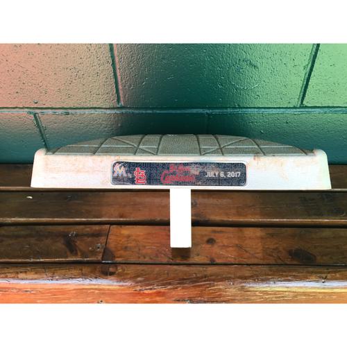Photo of Cardinals Authentics: Game-Used 1st Base From 7/7/17 *Ichiro Suzuki Single 2nd Inning*