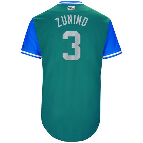 "Photo of Mike ""Zunino"" Zunino Seattle Mariners Game-Used Players Weekend Jersey"