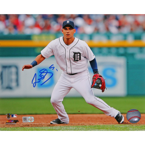 Photo of Detroit Tigers Jose Iglesias Autographed photo