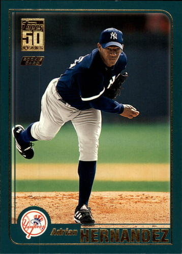 Photo of 2001 Topps Traded #T226 Adrian Hernandez RC
