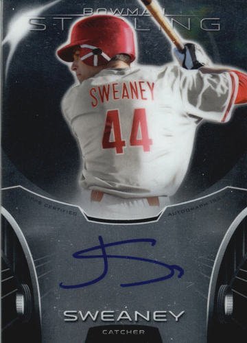 Photo of 2013 Bowman Sterling Prospect Autographs #JSW Jake Sweaney