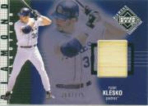 Photo of 2002 Upper Deck Diamond Connection #404 Ryan Klesko DC Bat