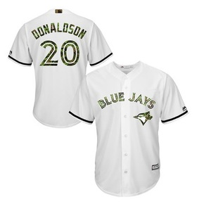 2016 Canadian Forces CADPAT Josh Donaldson Replica Jersey by Majestic