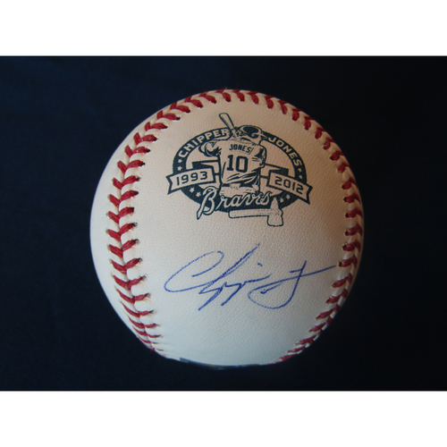 Photo of Braves Charity Auction - Chipper Jones Autographed Baseball