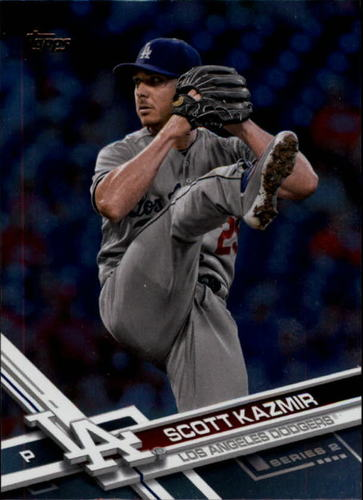 Photo of 2017 Topps Rainbow Foil #447 Scott Kazmir