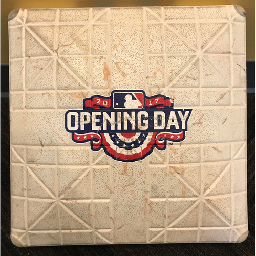 Photo of Third Base - 2017 Opening Day: Game-Used