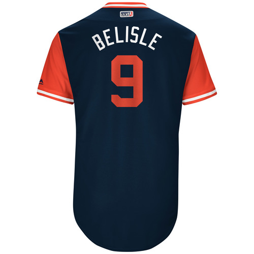"Photo of Matt ""Belisle"" Belisle Game-Used Players Weekend Jersey"