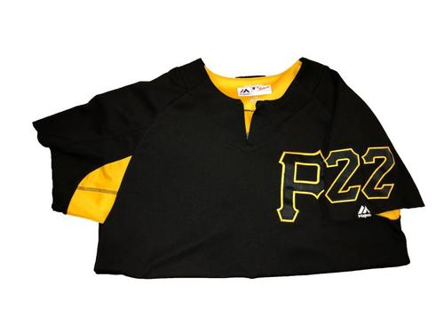Photo of #22 Team-Issued Batting Practice Jersey