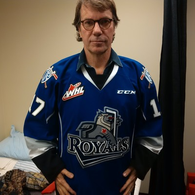 Mike Downie game ready Royals jersey