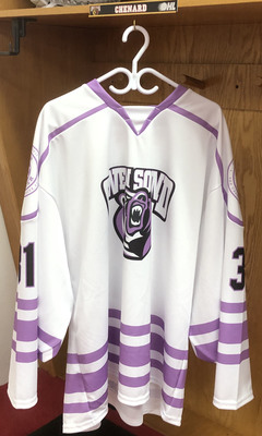 Nick Chenard Hockey Fights Cancer Jersey
