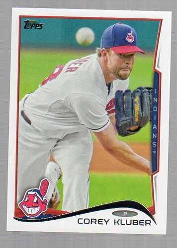 Photo of 2014 Topps #279 Corey Kluber