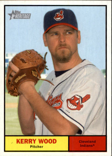Photo of 2010 Topps Heritage #115 Kerry Wood