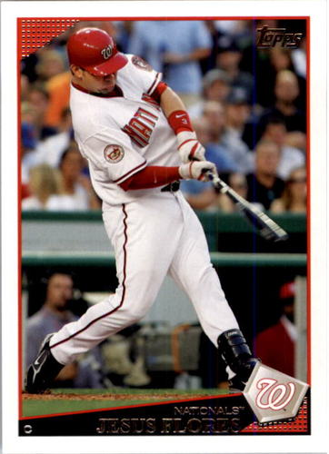 Photo of 2009 Topps #564 Jesus Flores