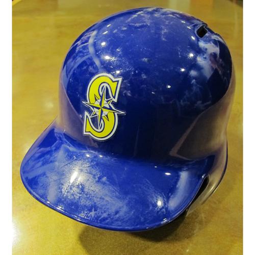 Photo of Franklin Gutierrez Team-Issued Home Alt Batting Helmet 2016