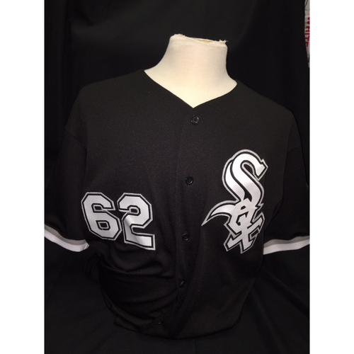 Photo of Jose Quintana 2016 Team Issued Black Alternate Jersey
