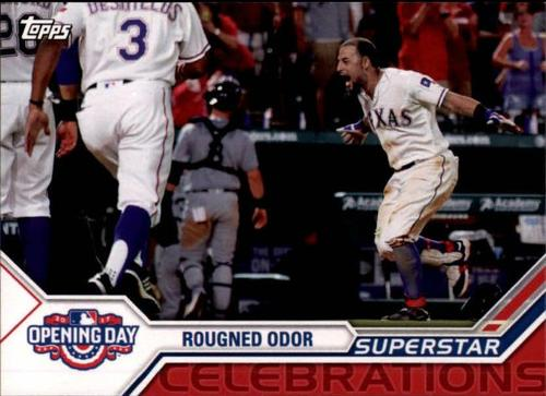 Photo of 2017 Topps Opening Day Superstar Celebrations #SC10 Rougned Odor