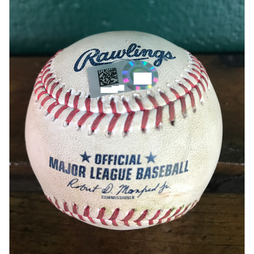 Photo of Cardinals Authentics: Game-Used baseball Pitched by Michael Wacha to Marcell Ozuna *Single RBI*