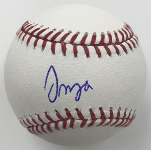 Photo of Francisco Mejia Autographed Baseball