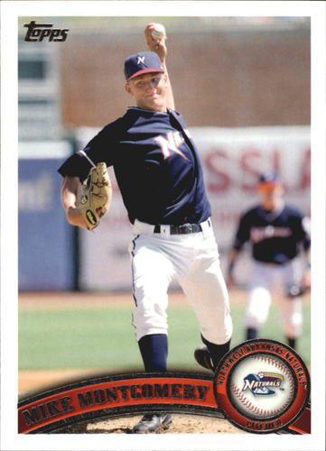 Photo of 2011 Topps Pro Debut #40 Mike Montgomery  Cubs post-season