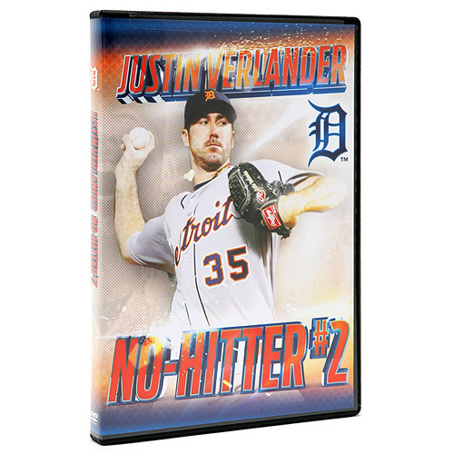 Photo of Detroit Tigers Justin Verlander Commemorative No-Hitter DVD