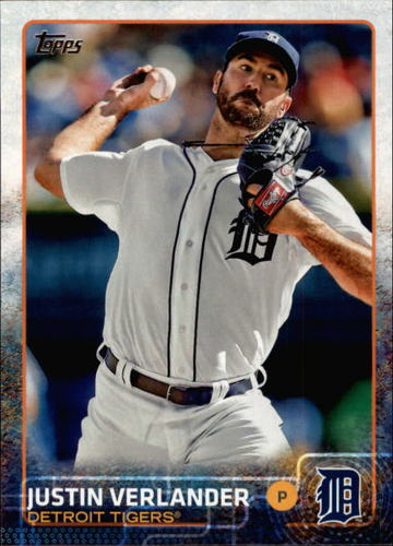 Photo of 2015 Topps #463 Justin Verlander