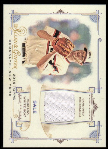 Photo of 2014 Topps Allen and Ginter Relics #FRBCS Chris Sale B