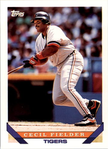 Photo of 1993 Topps #80 Cecil Fielder