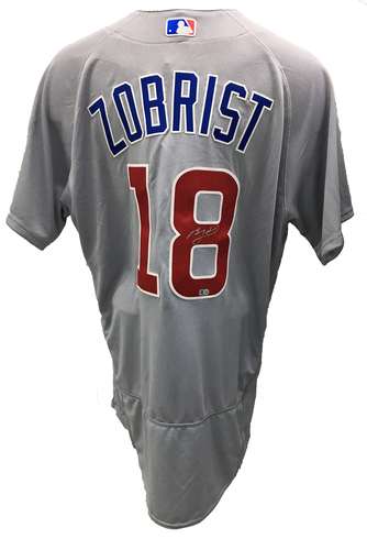 Photo of Ben Zobrist Autographed Jersey