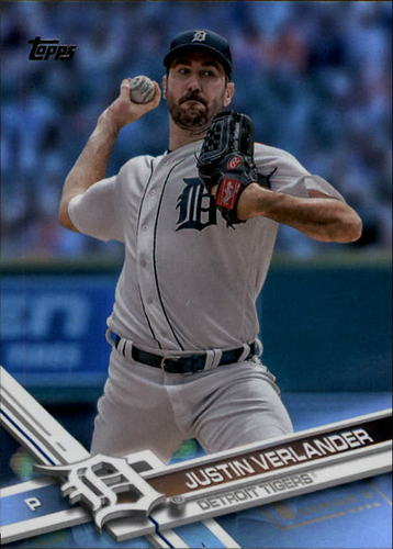 Photo of 2017 Topps Rainbow Foil #450 Justin Verlander